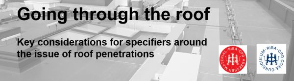 key considerations for specifiers around the issues with roof penetrations
