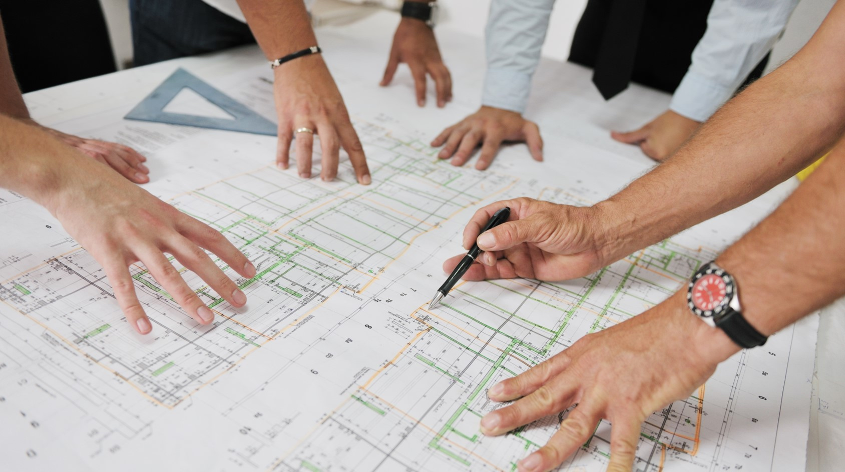 planning, collaboration, site meeting, proactive