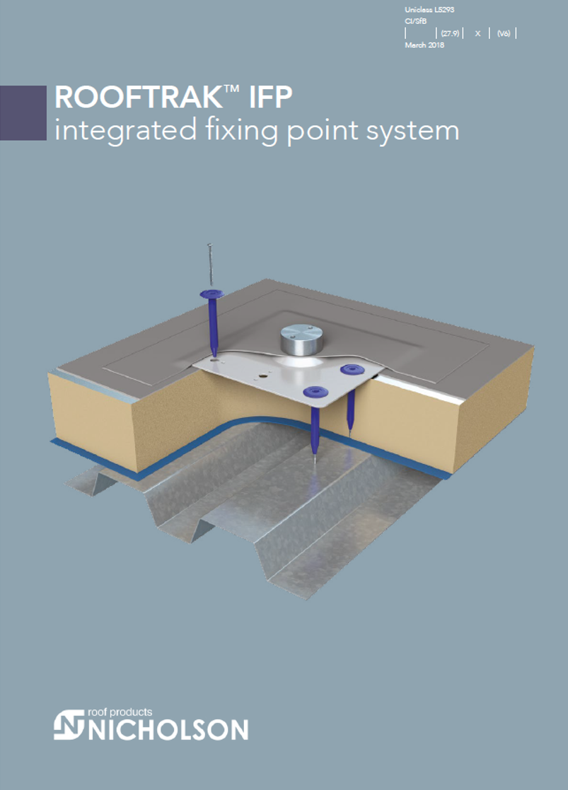 rooftrak integrated fixing point brochure