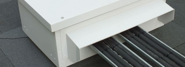 roof penetration housing, riser weathering system, ROOFBOX S series